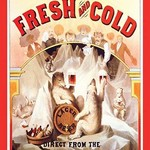 Fresh and Cold - Direct from the North Pole by F. Klemm - Art Print