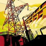Baghdad Electric Co. by Wilbur Pierce - Art Print