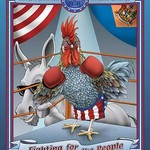 Delaware Blue - Fighting for the People by Richard Kelly - Art Print
