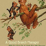 Branch Manager by Wilbur Pierce - Art Print
