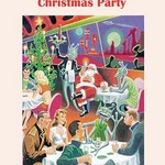 Christmas Party by Wilbur Pierce - Art Print