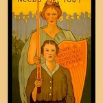 Women your Country Needs You! - Art Print