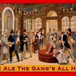 Ale Ale the Gang's All Here by Wilbur Pierce - Art Print