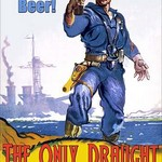 Drink American Beer - The Only Draught America Needs by Wilbur Pierce - Art Print