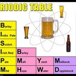 Beeriodic Table by Wilbur Pierce - Art Print