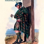 Clans of the Scottish Highlands - Art Print