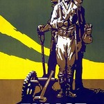 Your Country Calls - Enlist - Plow - Buy Bonds by Frank Unknown - Art Print