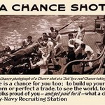 A chance shot by Lt. Sellers - Art Print