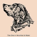 The Dog's Master is Here by American Puzzle Co. - Art Print
