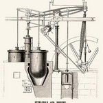 Stirling's Air Engine - Art Print