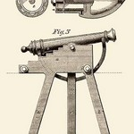 Device for Adjusting Cannon Trajectory and Accuracy - Art Print