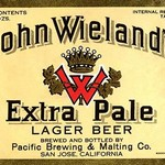 John Wieland's Extra Pale Lager Beer - Art Print