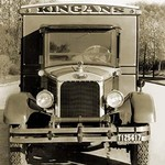 Kingan's Delivery Truck - Art Print