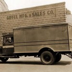 Giffel Manufacturing & Sales Company Delivery Truck - Art Print