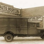 Truck at The Auto Hospital #2 - Art Print