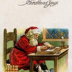 Wishing You the Best of Christmas Joys - Art Print