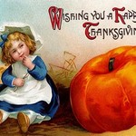 Wishing you a Happy Thanksgiving - Art Print
