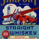 Airport Straight Whiskey - Art Print