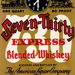 Seven-Thirty Express Blended Whiskey - Art Print