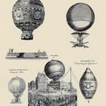 Air-balloons by Andrew Bell - Art Print