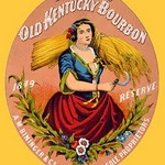 Bininger's Old Kentucky Bourbon by F. Heppenheimer - Art Print