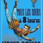 French Circus Poster - Art Print