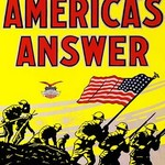 America's answer. The second official United States war picture - Art Print