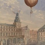 French Balloon Lift off #2 - Art Print