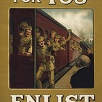 There's room for you - enlist today and hop on the train - Art Print
