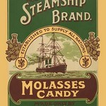 The Steamship Brand Molasses Candy - Art Print