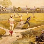 Baseball by L. Prang & Co. - Art Print