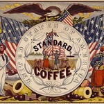 United States of America, our standard coffee by A. Holland - Art Print