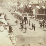 Deadwood Parade with Marching band by John C.H. Grabill - Art Print