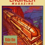 Railroad Engineer Magazine: Steaming Through the Mountains - Art Print