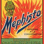 Mephisto - Alcool A Bruler - Art Print