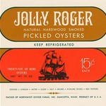 Jolly Roger Pickled Oysters - Art Print