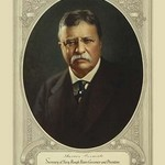 Theodore Roosevelt, Secretary of Navy, Rough Rider, governor and president by Forbes Litho. Mfg. Co. - Art Print