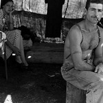 Unemployed lumber worker by Dorothea Lange - Art Print