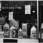 A Grocery Window by Dorothea Lange - Art Print