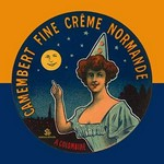 Camembert fine creme Normande by L. Poly - Art Print