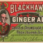 Blackhawk Ginger Ale - Art Print
