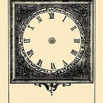 Tell Me What Time it is? by French Puzzle Card - Art Print