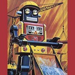 Busy Cart Robot - Art Print