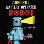 Electric Remote Control Battery Operated Robot - Art Print