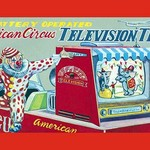 American Circus Television Truck - Art Print