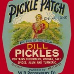 Pickle Patch Dill Pickles - Art Print