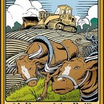 Bulldozer by Wilbur Pierce - Art Print
