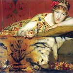 A Craving for Cherries by Sir Lawrence Alma-Tadema - Art Print
