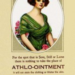 Athlo - Ointment for Croup, Cold or Sore Throat #2 - Art Print