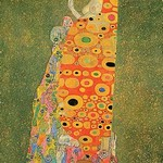 Abandoned Hope by Gustav Klimt - Art Print